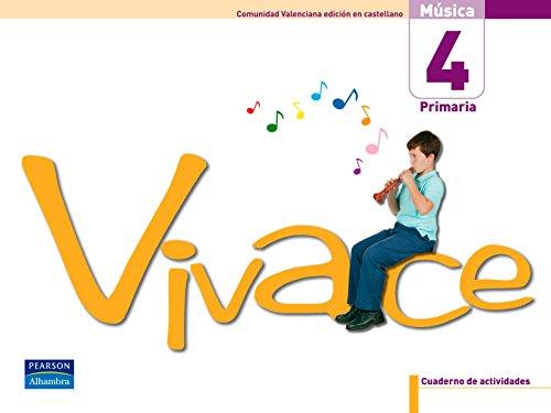 9788420551180: Vivace 4 pack cuaderno de actividades (comunidad valenciana) - 9788420551180