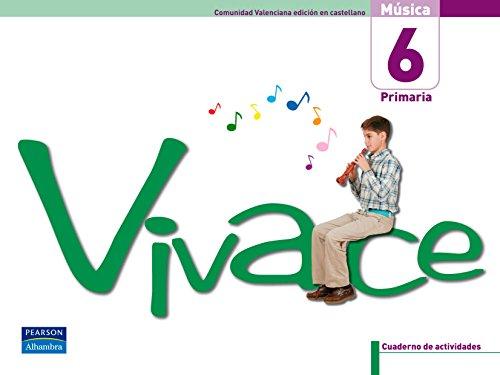 9788420551289: (06).VIVACE 6ºPRIM.*VALENCIA* (CUADERNO+CD.MUSICA CASTELLAN