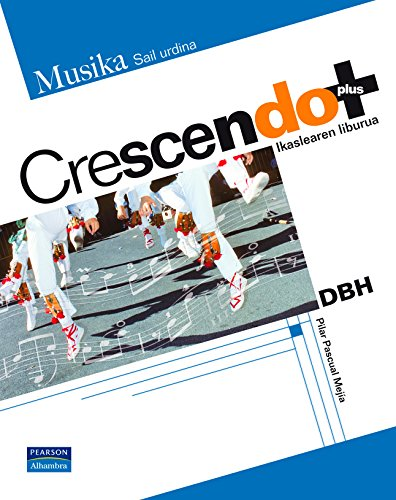 9788420554174: Crescendo plus ikaslearen liburua