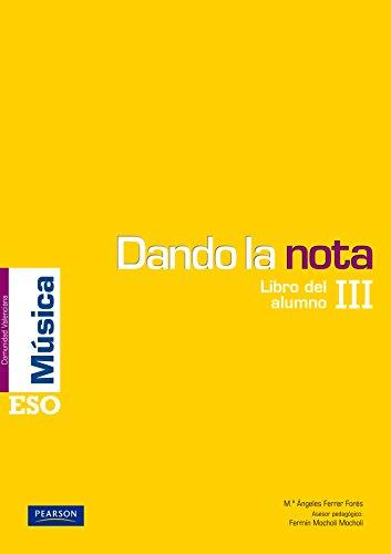 9788420556291: Dando la nota III libro del alumno (Comunidad Valenciana)