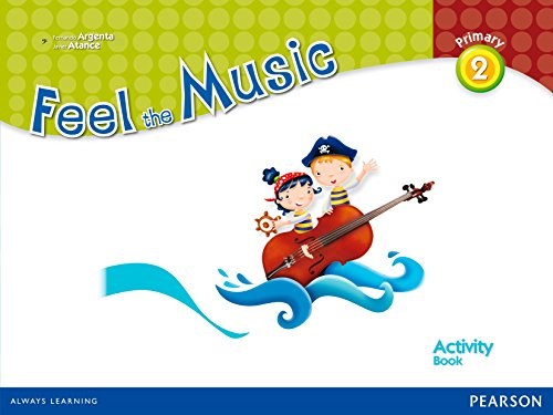 9788420558189: Feel the Music 2 Activity Book Pack