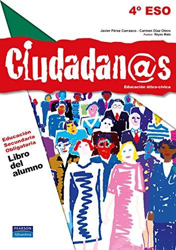9788420560823: (12).CIUDADANOS 4ºESO.(LIB+CUAD+ADENDA)