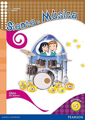 9788420561356: Siente la música 5 libro del alumno (Com. Valenciana) - 9788420561356