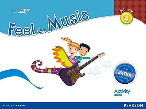 9788420564326: Feel The Music 4. Activity Book Pack - Edición LOMCE (Siente la Música) - 9788420564326