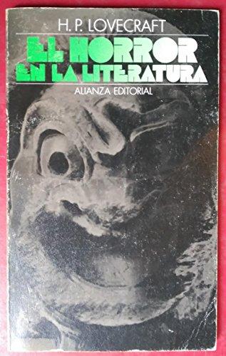 9788420600024: Horror en la literatura