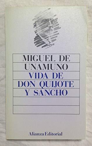 9788420602486: Vida de don quijote y Sancho (Libro De Bolsillo, El)