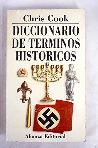 9788420606026: Diccionario De Terminos Historicos