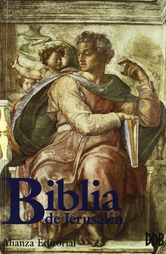 BIBLIA DE JERUSALÉN.EDICIÓN DE LA ESCUELA BÍBLICA: ESCUELA BÍBLICA DE
