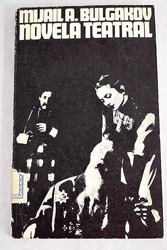 9788420610573: Novela teatral