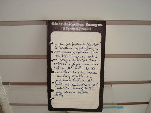 9788420611877: Ensayos (El Libro De Bolsillo)