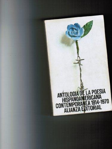 9788420612898: Antologia de la Poesia Hispanoamericana Contemporanea 1914-1970 (Spanish Edition)