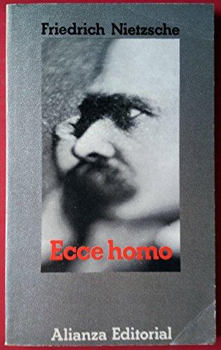 Ecce Homo (Spanish Edition): Friedrich Wilhelm Nietzsche