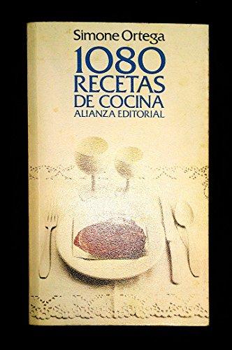 1080 recetas de cocina by ortega simone abebooks