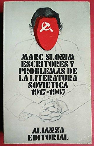 9788420615400: ESCRITORES Y PROBLEMAS DE LA LITERATURA SOVIÉTICA 1917-1967