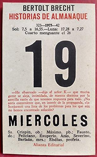 9788420615608: Historias de Almanaque 19 (Miercoles)