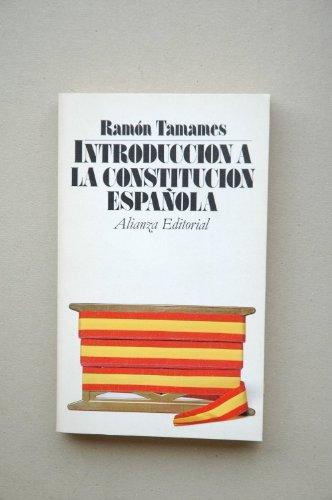9788420617855: Introduccion a la constitucion española