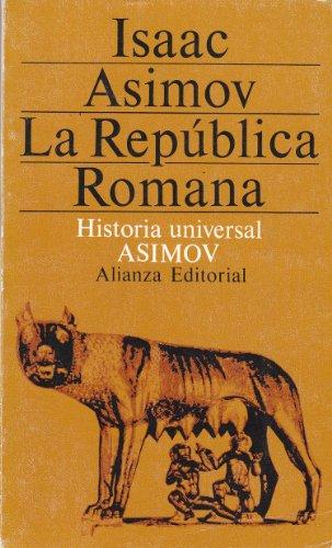 9788420618227: Republica romana, la