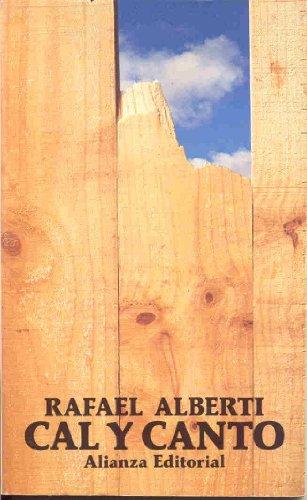 9788420618425: Cal y canto (Libro De Bolsillo, El)