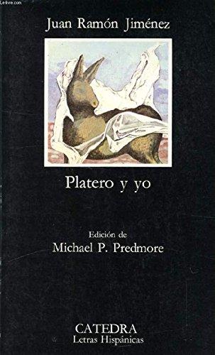 9788420618517: Platero Y Yo/Platero and Me (El Libro de bolsillo ; 851. Selección Literatura)