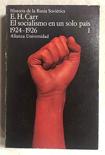 El socialismo en un solo país 1924-1926: Carr, E.H.