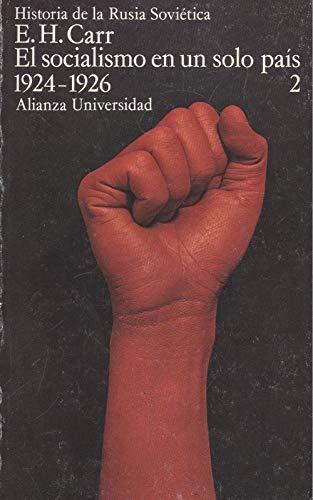 9788420621203: El socialismo en un solo pais (1924-1926) (historia de la Rusia sovietica)