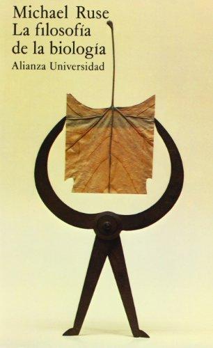 9788420622507: La filosofia de la biologia/ The Philosophy of Biology (Alianza Universidad/ Alianza University) (Spanish Edition)
