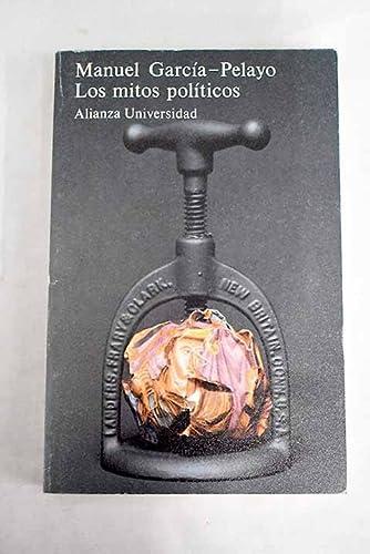9788420622743: Los mitos políticos (Alianza Universidad (Au))