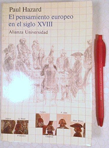 9788420624341: El Pensamiento Europeo en el Siglo XVIII