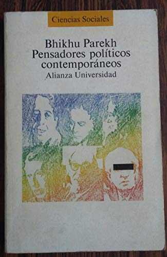 9788420624617: Pensadores politicos contemporaneos