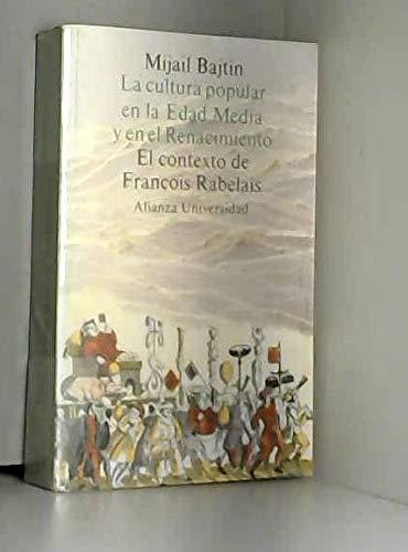 9788420624938: Cultura Popular En La Edad Media y En El Renacimiento (Spanish Edition)