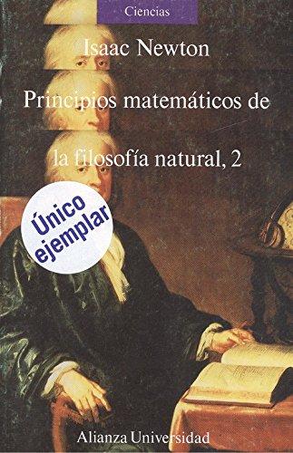 principios matematicos de la filosofia natural 2: Isaac Newton