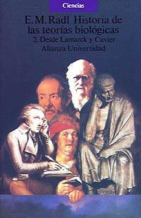 9788420625546: Historia de las teorías biológicas. 2. Desde Lamarck y Cuvier. (Alianza Universidad (Au)) (Spanish Edition)