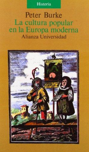 9788420626642: La cultura popular en la Europa moderna (Spanish Edition)