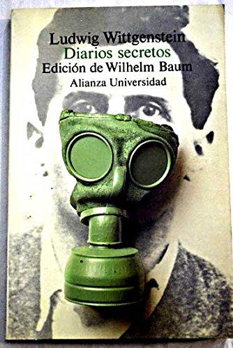9788420626703: Diarios secretos (Alianza Universidad)