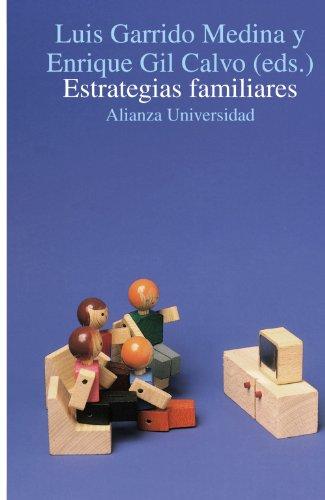 9788420627663: Estrategias familiares (Alianza Universidad (Au))