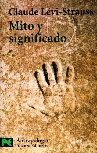9788420628974: Mito y significado (El Libro De Bolsillo - Ciencias Sociales)