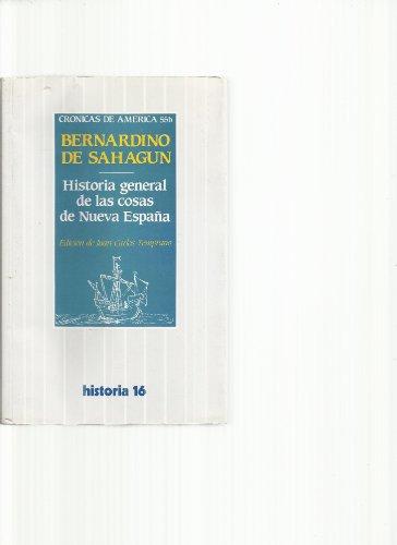 9788420629605: Historia general de las cosas de nueva España (Alianza universidad)