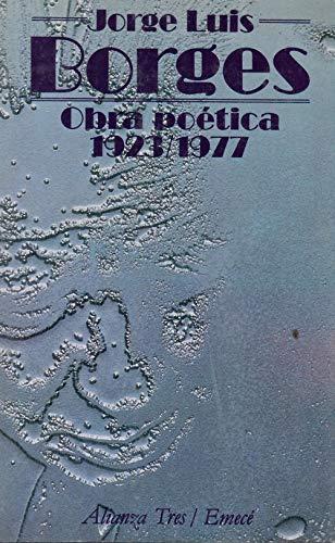 9788420630489: Obra Poetica 1923-1977 / Poetics Works 1923-1977 (Spanish Edition)