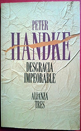 9788420632377: Desgracia impeorable / A Sorrow Beyond Dreams (Spanish Edition)
