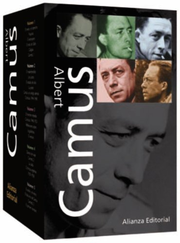 9788420632995: Albert Camus: Obras Completas / Complete Works (Alianza Tres / Three Alliance) (Spanish Edition)