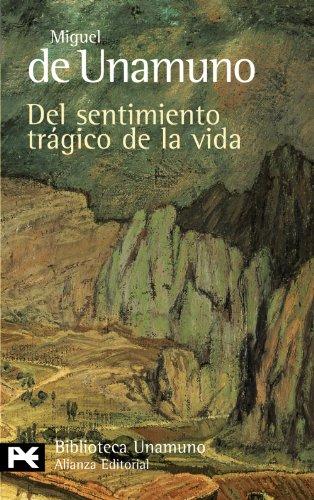 9788420633244: Del sentimiento trágico de la vida (El Libro De Bolsillo - Bibliotecas De Autor - Biblioteca Unamuno)