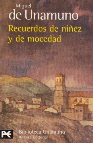 9788420633787: Recuerdos de niñez y de mocedad (El Libro De Bolsillo - Bibliotecas De Autor - Biblioteca Unamuno)