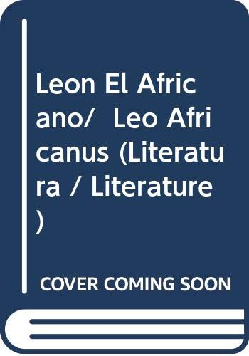 9788420634777: León el africano (Alianza Bolsillo Nuevo)