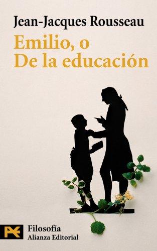 9788420635040: Emilio, o de la educación (El Libro De Bolsillo - Filosofía)