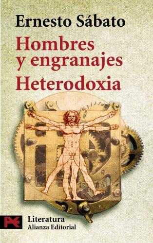 9788420635798: Hombres y engranajes. Heterodoxia (El Libro De Bolsillo - Literatura)