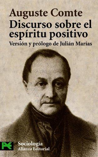 9788420637471: Discurso sobre el espíritu positivo (El Libro De Bolsillo - Ciencias Sociales)