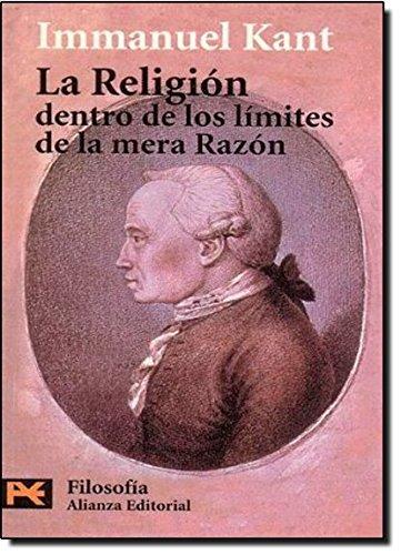 9788420637914: La religion dentro de los limites de la mera razon (Humanidades/ Humanities) (Spanish Edition)