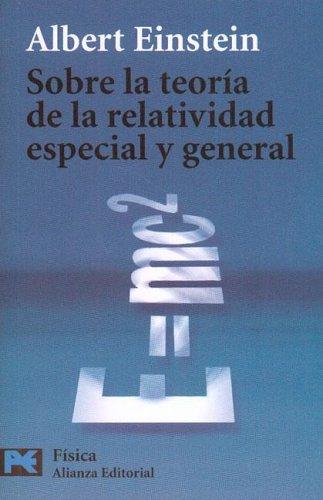 9788420639185: Sobre La Teoria De La Relatividad Especial Y General (Bolsillo - Fisica)