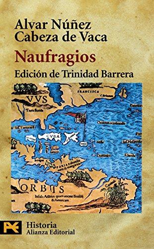 9788420639383: Naufragios (El Libro De Bolsillo - Historia)