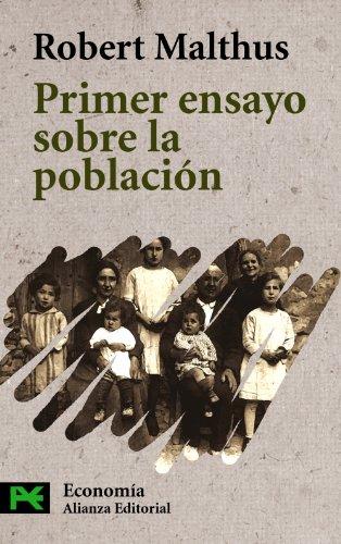 9788420639840: Primer Ensayo Sobre La Poblacion / An Essay on the Principle of Population (Ciencias Sociales/ Social Sciences) (Spanish Edition)